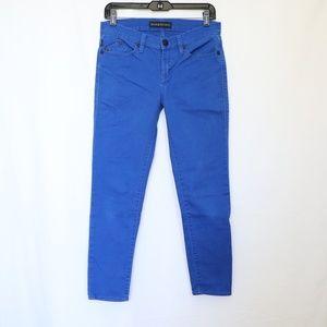 Rock & Republic Hamburg Blue Skinny Capri Jeans 6